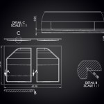 JeeTops™ front panel drawing