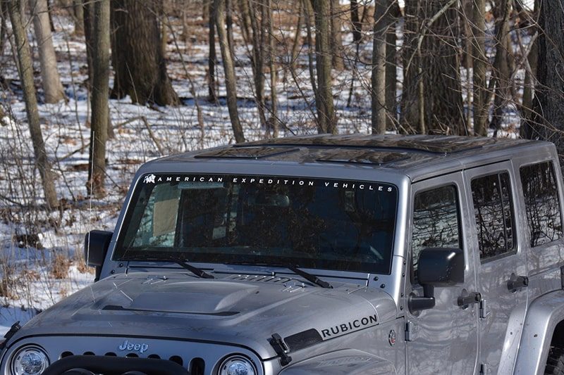 JeeTops™ on Jeep Wrangler Unlimited Rubicon