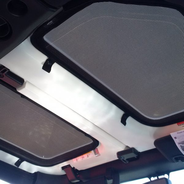New JeeTops™ Sunroof Fabric Tesla Shades