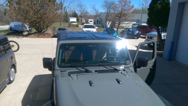 New JeeTops™ Sunroof front panels exterior