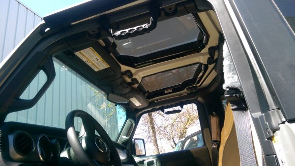 New JeeTops™ Sunroof front panels interior