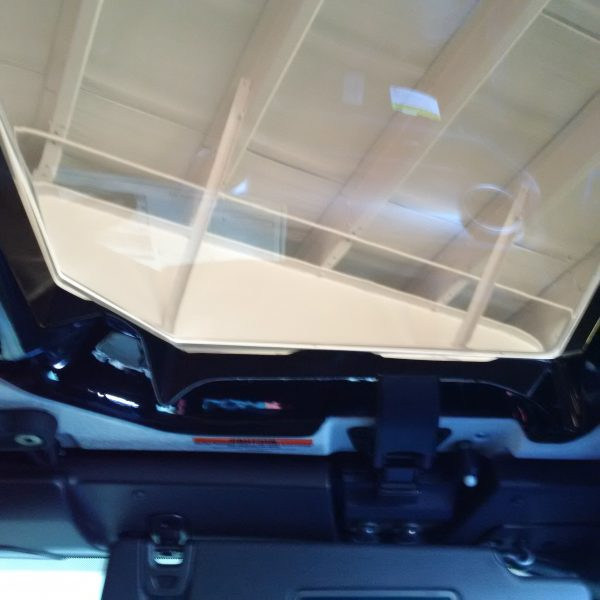 New JeeTops™ Sunroof front panel